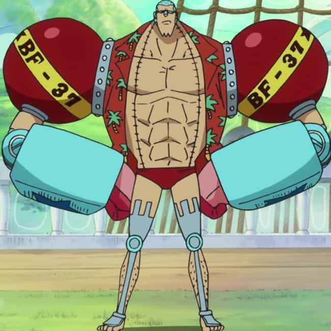 Whimpy Little Moves is listed (or ranked) 3 on the list The Best Franky Quotes from One Piece