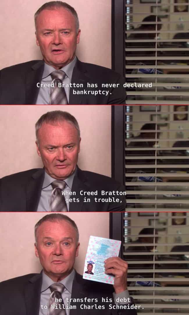 When He Hacks The System is listed (or ranked) 4 on the list The Best Creed Moments On 'The Office'