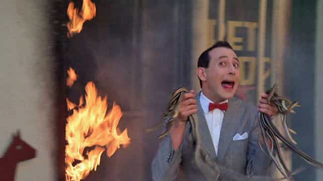 A Pet Store Burns Down is listed (or ranked) 4 on the list 'Pee-wee's Big Adventure' Is Actually Super Traumatizing