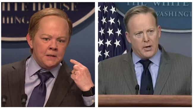 After Melissa McCarthy's Impre... is listed (or ranked) 3 on the list Political Figures Share What They Really Thought Of SNL's Impressions Of Them