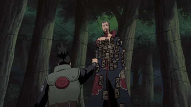 Team Asuma And Team Kaka... is listed (or ranked) 4 on the list The 12 Greatest Akatsuki Fights In 'Naruto Shippuden'