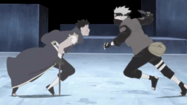Kakashi Vs. Obito is listed (or ranked) 4 on the list The 12 Greatest Akatsuki Fights In 'Naruto Shippuden'