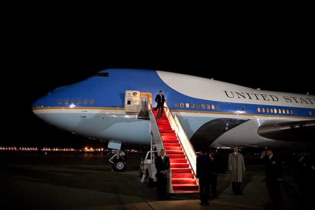 It Has A Specially Designed Re... is listed (or ranked) 2 on the list All The Weirdest Features Of Air Force One