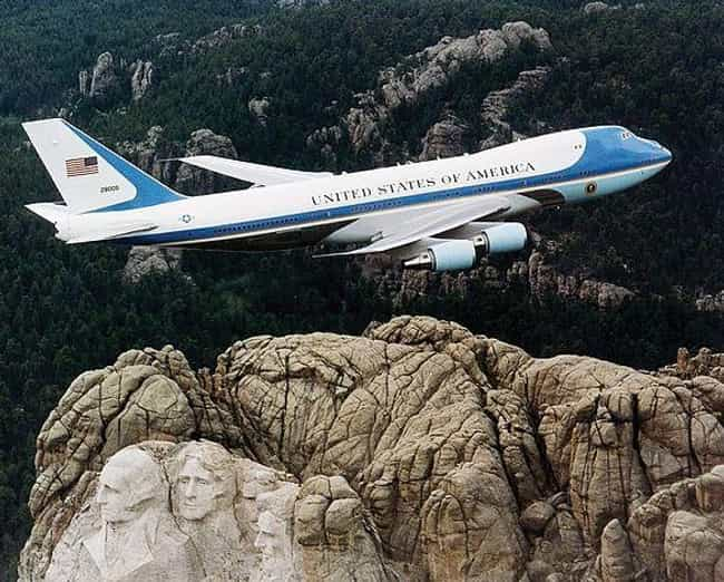 It Can Be Refueled While In Th... is listed (or ranked) 4 on the list All The Weirdest Features Of Air Force One