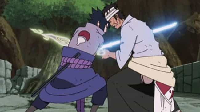 Sasuke Vs. Danzō - 'Naruto' is listed (or ranked) 2 on the list The 13 Greatest Villain Vs. Villain Fights In Anime History