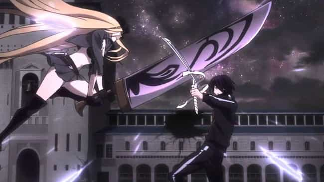 Bishamon Vs. Yato - 'Noragami' is listed (or ranked) 1 on the list The 13 Greatest Hero Vs. Hero Fights In Anime History