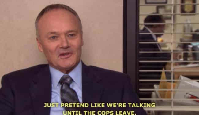 When He Evades Law Enforcement is listed (or ranked) 4 on the list The Best Creed Moments On 'The Office'