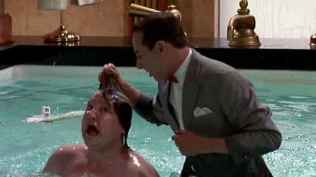 Pee-wee Tries To Drown Francis is listed (or ranked) 7 on the list 'Pee-wee's Big Adventure' Is Actually Super Traumatizing