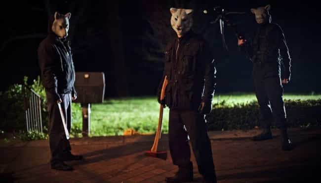 'You're Next' Is An Absurdist ... is listed (or ranked) 4 on the list Slasher Movies You Didn't Realize Are Extremely Intelligent