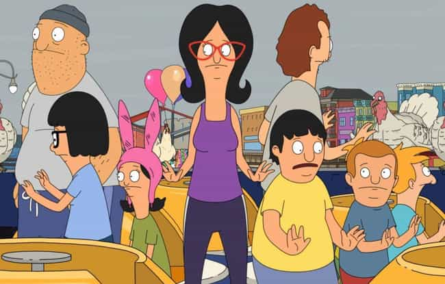 Dawn of the Peck is listed (or ranked) 1 on the list The Best Thanksgiving Episodes On 'Bob's Burgers'