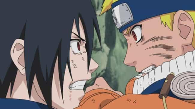 Naruto Uzumaki Vs. Sasuke Uchi... is listed (or ranked) 4 on the list The 13 Greatest Hero Vs. Hero Fights In Anime History