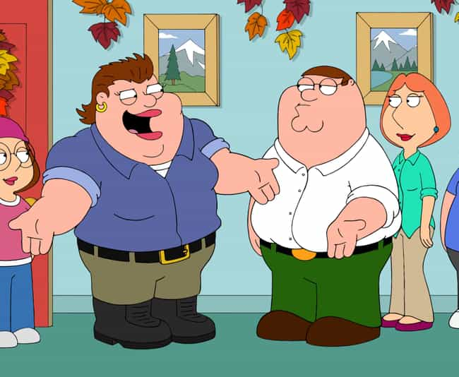 Peter's Sister is listed (or ranked) 3 on the list The Best Thanksgiving Episodes On 'Family Guy'