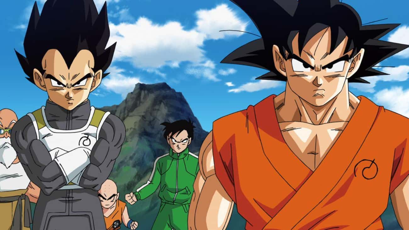 The Z Fighters - 'Dragon Ball Z'