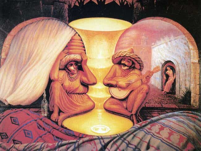 Do You See An Old Couple... is listed (or ranked) 8 on the list What You See In These Images Reveals A Lot About You
