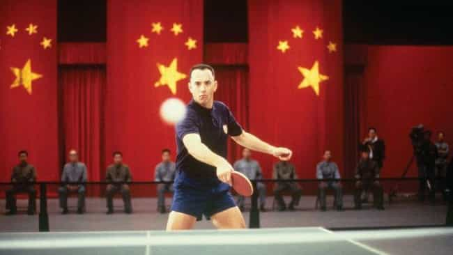 Ping-Pong Diplomacy Was A Real... is listed (or ranked) 4 on the list How Accurate Was The Depiction Of The Vietnam War In 'Forrest Gump'?