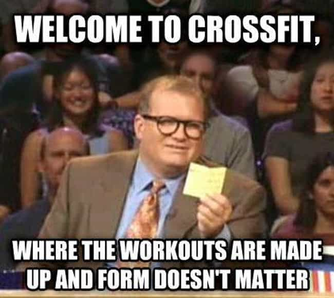 The Beauty Of Crossfit is listed (or ranked) 4 on the list 19 Hilarious Memes About Crossfit That Get It Just Right