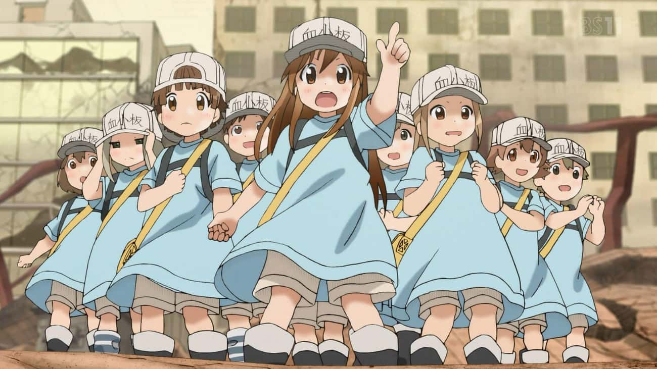 The Platelets - Cells At Work is listed (or ranked) 3 on the list The 20 Cutest Anime Characters Of All Time