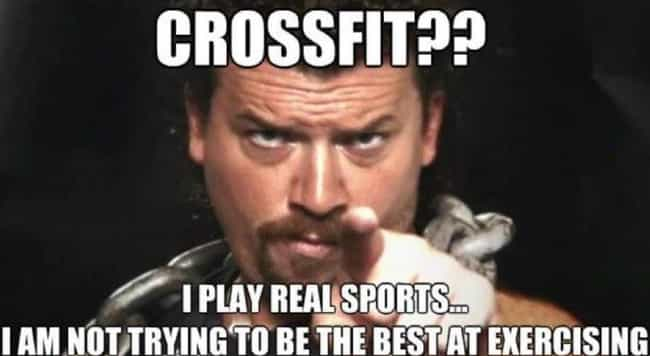 Work On That is listed (or ranked) 2 on the list 19 Hilarious Memes About Crossfit That Get It Just Right