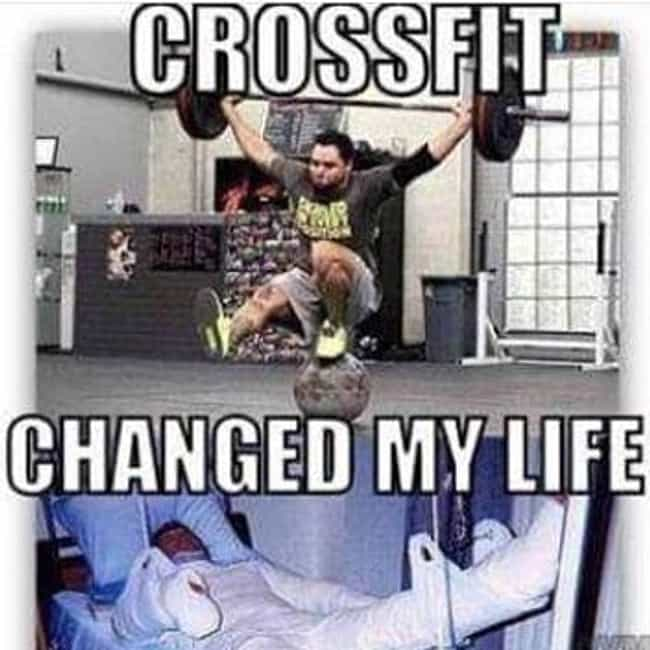 Pain And Gain is listed (or ranked) 2 on the list 19 Hilarious Memes About Crossfit That Get It Just Right