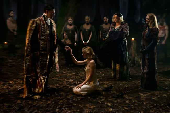Sabrina Belongs To The Church ... is listed (or ranked) 4 on the list All The Similarities Between Netflix's 'Chilling Adventures of Sabrina' And The Comics