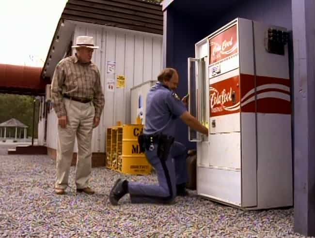 The Flying Coke Machine In 'Th... is listed (or ranked) 3 on the list Moments From Stephen King Stories Clearly Influenced By Drugs And Alcohol