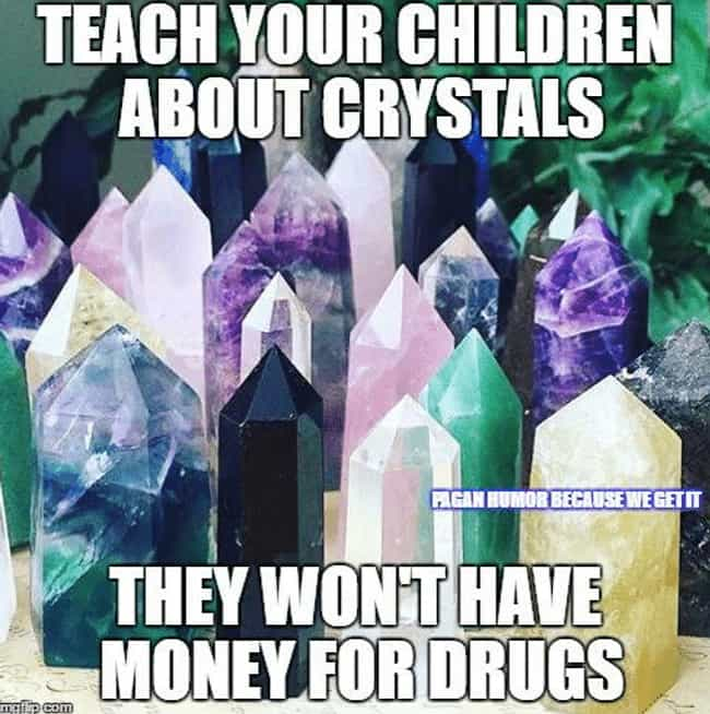 The Cost Of Good Chakra is listed (or ranked) 4 on the list The 18 Funniest Memes About Crystals To Give You Only Good Vibes