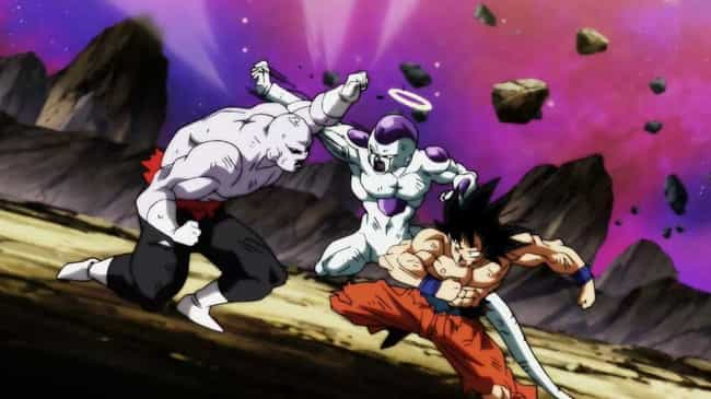 Goku & Frieza Take Down Jiren ... is listed (or ranked) 1 on the list 13 Times Anime Heroes Teamed Up With Villains