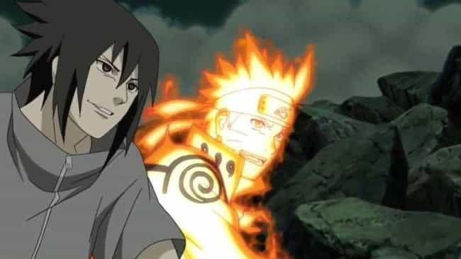 Naruto & Sasuke Save Konoha In... is listed (or ranked) 4 on the list 13 Times Anime Heroes Teamed Up With Villains