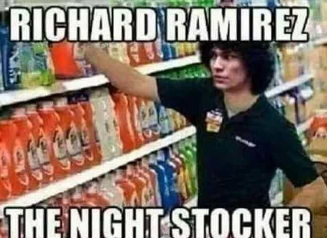 A Surprising Store Worker is listed (or ranked) 4 on the list Morbid Serial Killer Memes You Really Shouldn't Laugh At