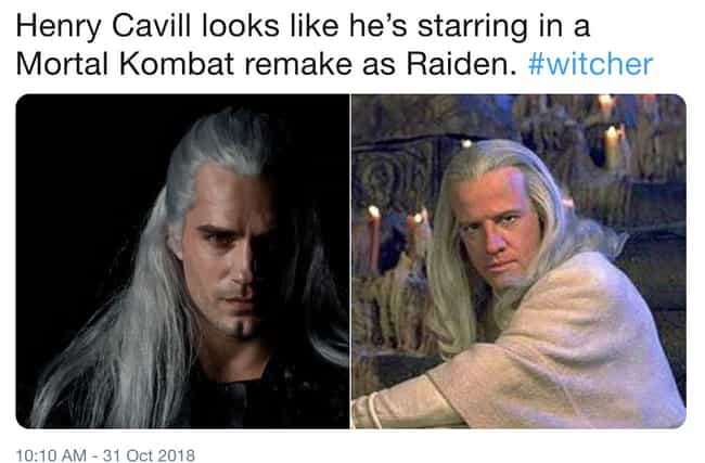 He Just Needs Some Candles In ... is listed (or ranked) 2 on the list The 19 Funniest Memes About Henry Cavill In 'The Witcher'