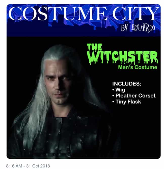 Get Ready For Halloween is listed (or ranked) 1 on the list The 19 Funniest Memes About Henry Cavill In 'The Witcher'