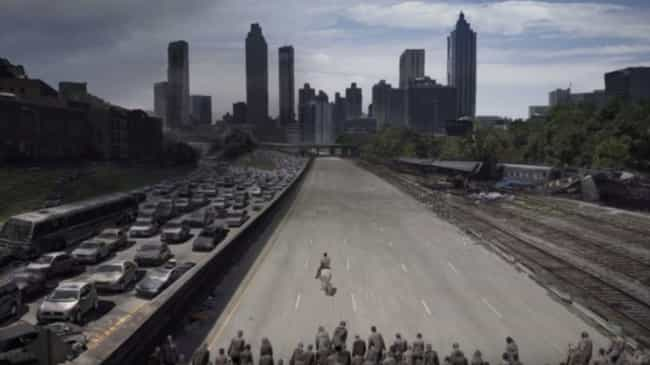The Road To Atlanta is listed (or ranked) 4 on the list 10 Easter Eggs From Rick's Final Episode Of 'The Walking Dead'