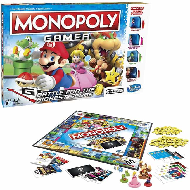 Gamer Edition is listed (or ranked) 6 on the list The Best Editions of Monopoly
