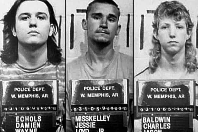 Three Teenagers Faced Convicti... is listed (or ranked) 3 on the list 'Paradise Lost' Helped Save Three Innocent Men From A Wrongful Murder Conviction