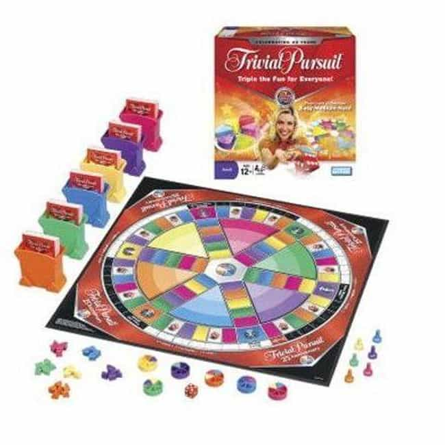 25th Anniversary Edition... is listed (or ranked) 6 on the list The Best Editions of Trivial Pursuit