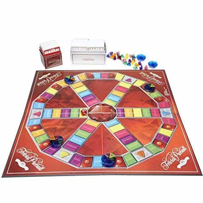 40th Anniversary Ruby Edition is listed (or ranked) 1 on the list The Best Editions of Trivial Pursuit