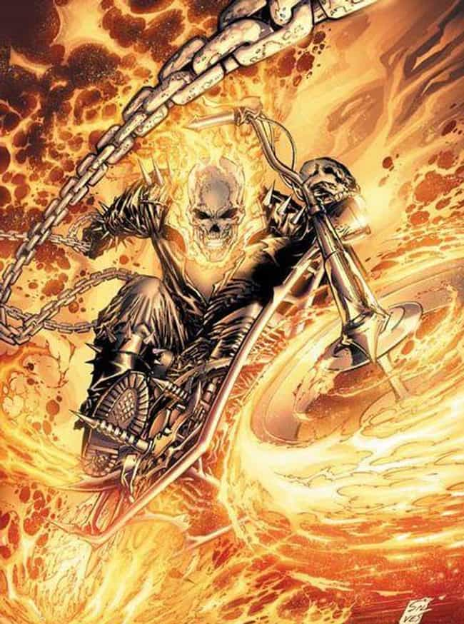 Johnny Blaze Is Still The Cool... is listed (or ranked) 2 on the list The Most Heavy Metal Versions Of The Ghost Rider To Ever Appear In The Pages Of Marvel Comics