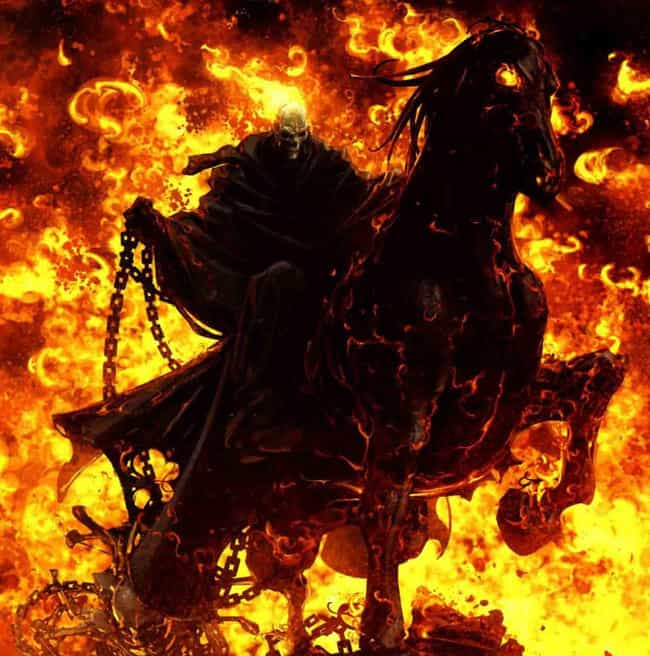 The Ghost Rider Of 'Trail Of T... is listed (or ranked) 1 on the list The Most Heavy Metal Versions Of The Ghost Rider To Ever Appear In The Pages Of Marvel Comics