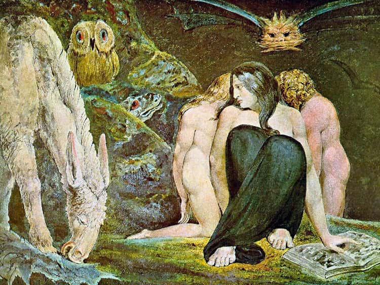 "Thomas De Quincey Patterned His ""Ladies Of Sorrow"" On Triune Goddesses And Witches Of Myth"