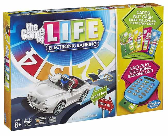 Electronic Banking Edition is listed (or ranked) 3 on the list The Best Editions of The Game of Life
