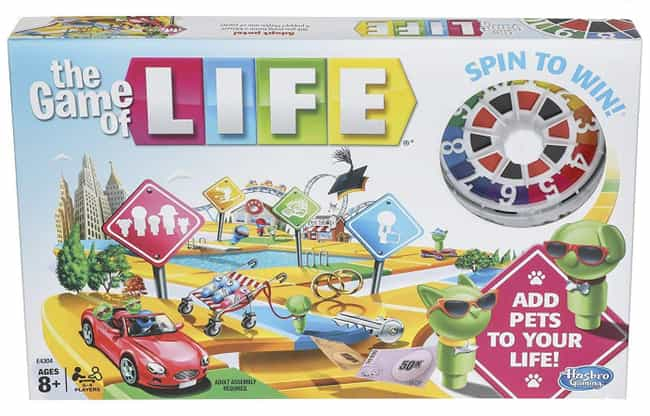 Classic Edition is listed (or ranked) 1 on the list The Best Editions of The Game of Life