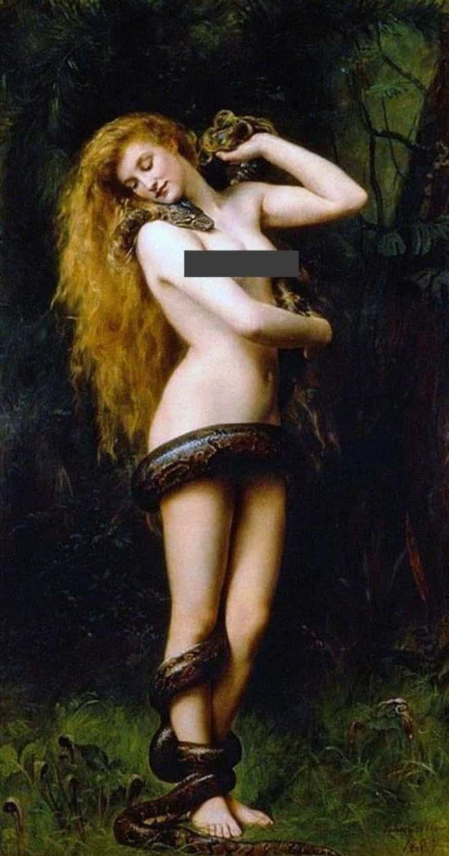 She Was Adam's First Wife is listed (or ranked) 1 on the list Meet Lilith, The Woman In The Garden Of Eden The Bible Doesn't Want You To Know About