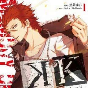 K is listed (or ranked) 23 on the list The Best Supernatural Manga
