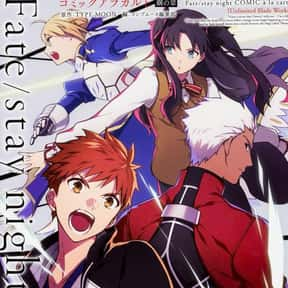 Fate/stay night: Unlimited Bl is listed (or ranked) 24 on the list The Best Supernatural Manga