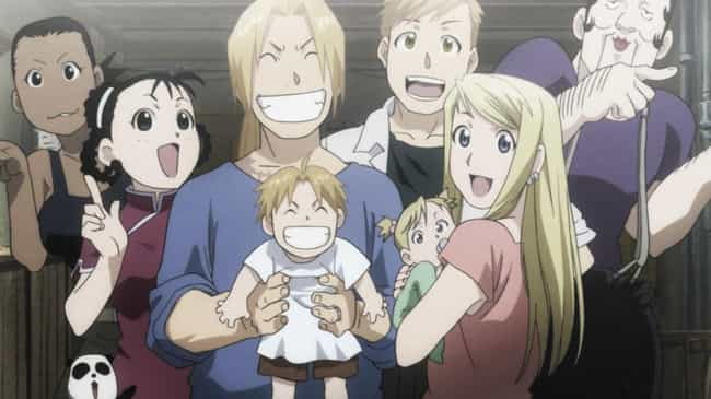 Winry Rockbell & Edw... is listed (or ranked) 1 on the list The 15 Best Anime Couples Who Started As Childhood Friends