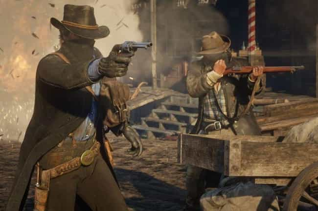 Motion Capture Took 2,200 Days is listed (or ranked) 4 on the list Everything About The Making Of 'Red Dead Redemption 2' Was Excessive