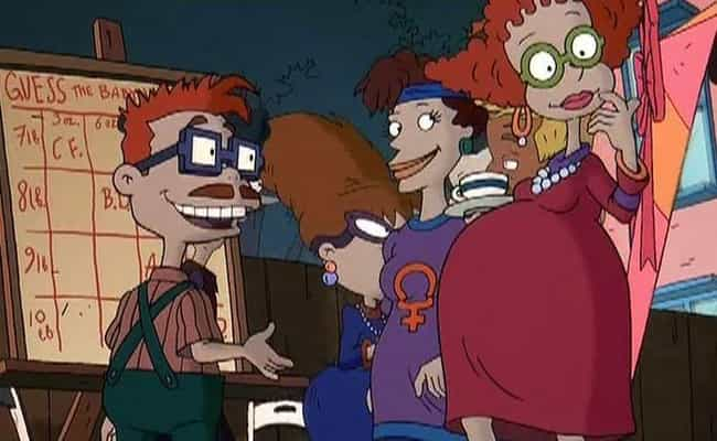 There Appears To Be A Sophisti... is listed (or ranked) 4 on the list Tommy Attempting To Get Rid Of Dil In 'The Rugrats Movie' Is Only Part Of The Weirdness