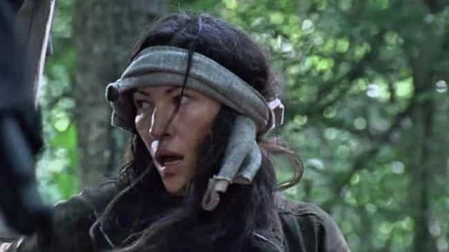 Yumiko is listed (or ranked) 5 on the list A Guide To All The New Characters On 'The Walking Dead'
