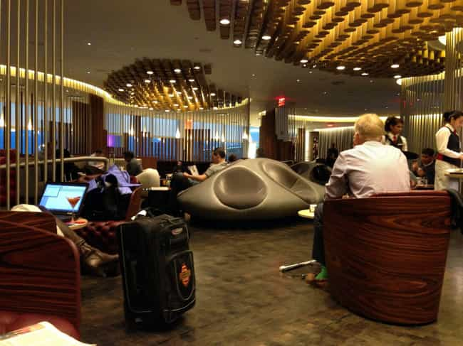 Virgin Atlantic Clubhouse - JF... is listed (or ranked) 4 on the list The Best Airport Lounges In The U.S.