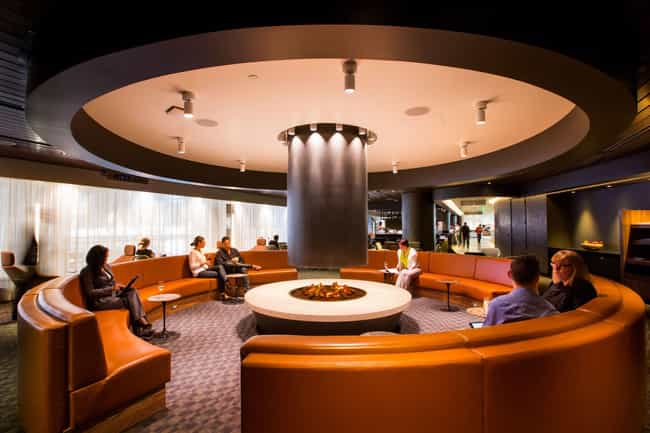 Oneworld Business Lounge - LAX is listed (or ranked) 1 on the list The Best Airport Lounges In The U.S.